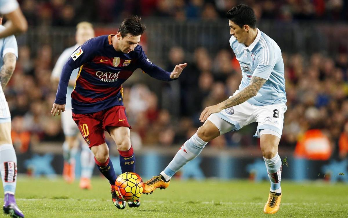 Lionel Messi mystifies Celta