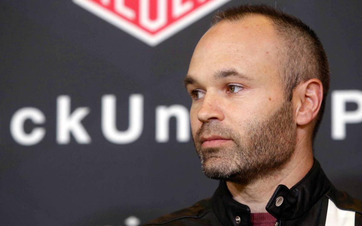 5cb94ed3251 Andrés Iniesta: 'We are not afraid of anybody, but we do have a lot of  respect for ...