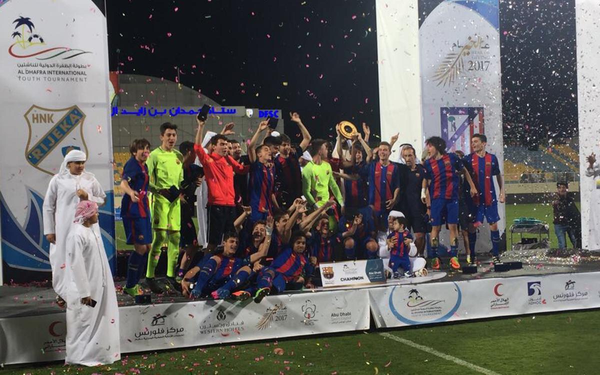 El Cadete A gana el Torneo Internacional Al Dhafra