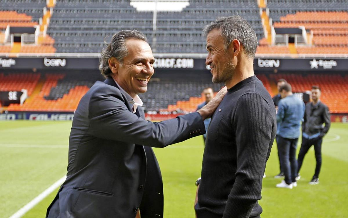 10 parelles d'entrenadors diferents del FC Barcelona i el València en els últims cinc anys