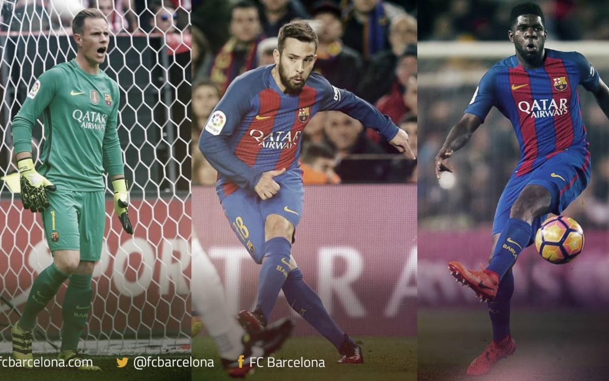 Barça internationals 1x1