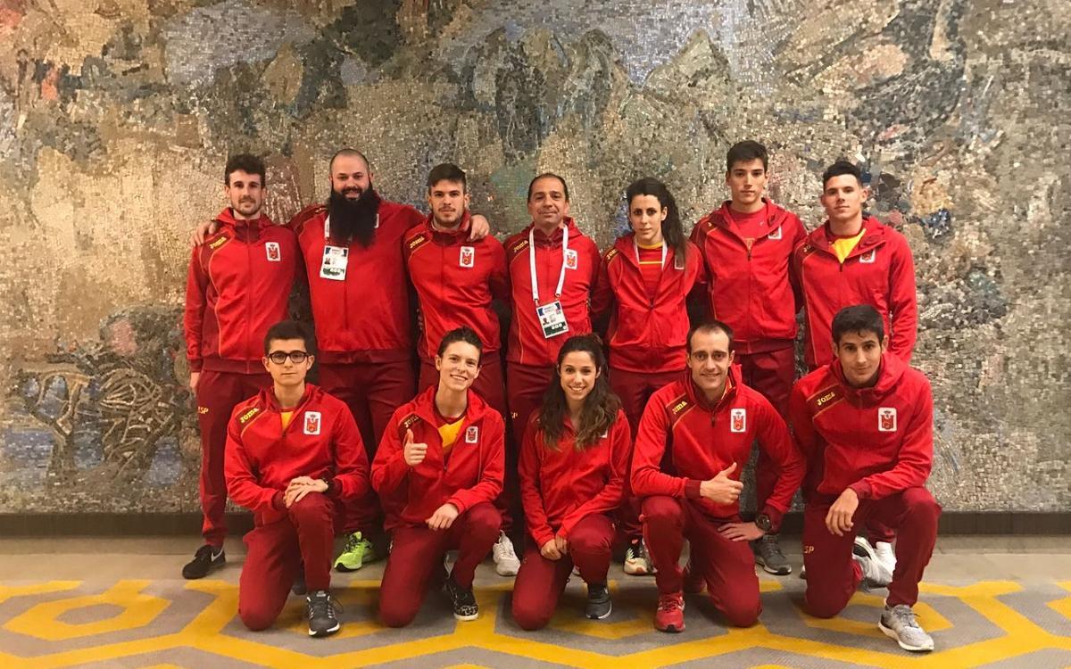 La representació del Barça a l'Europeu de Belgrad