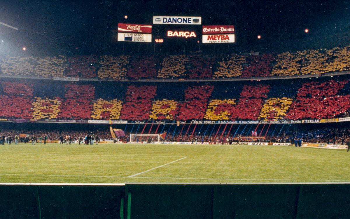 25 years since the first blaugrana mosaic