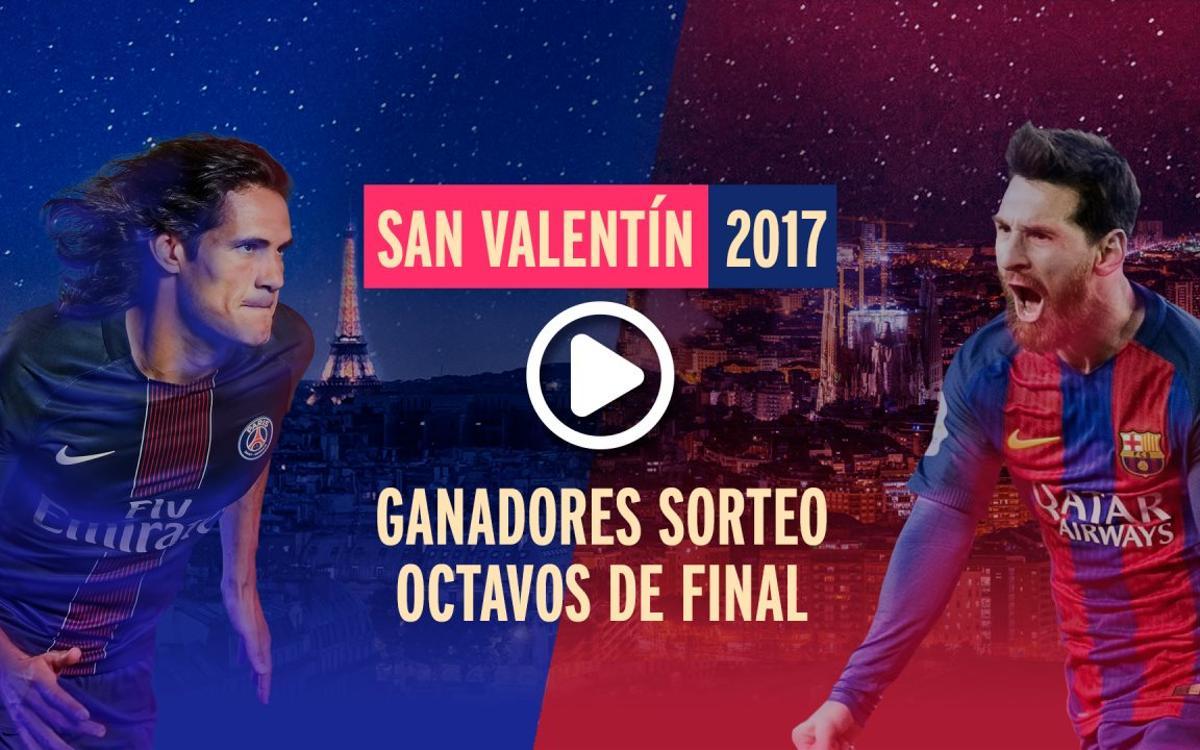 Así fue la experiencia de las parejas ganadoras en la eliminatoria Barça - PSG