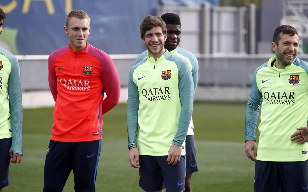 The Neverending Rondo, starring Jordi Alba and Sergi Roberto
