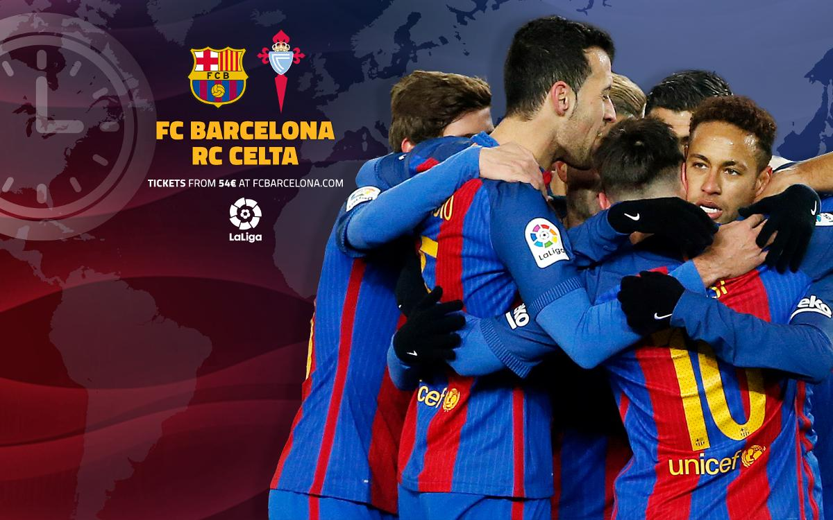 When and where to watch FC Barcelona v Celta Vigo in La Liga