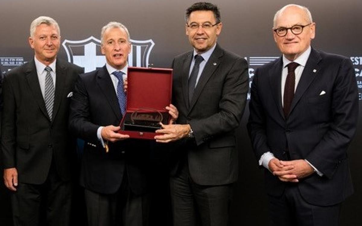 Acord de col·laboració entre FC Barcelona i CA Peñarol