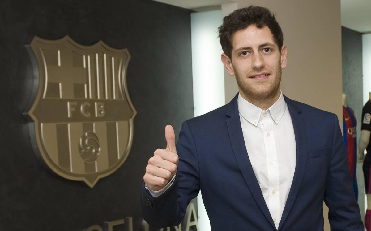Rafa López signa amb el Barça Lassa fins al 2019