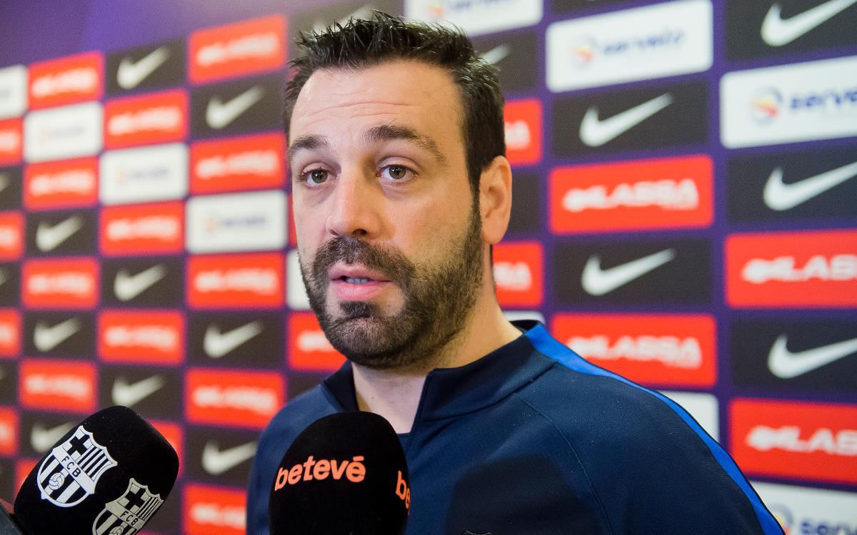 """Ricard Muñoz: """"El Forte dei Marmi és un equip molt equilibrat"""""""