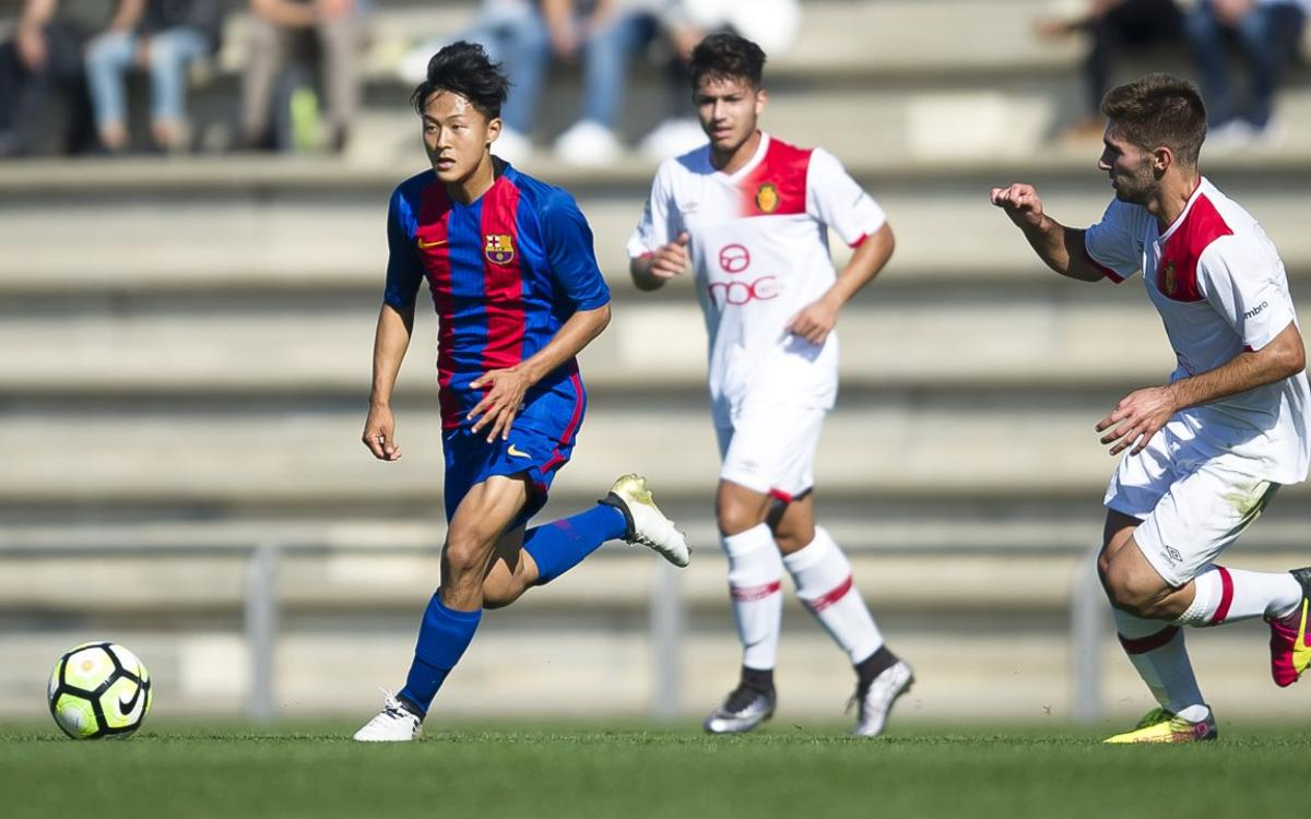 RCD Mallorca v FC Barcelona U19A: Lacking the finishing touch (2-0)