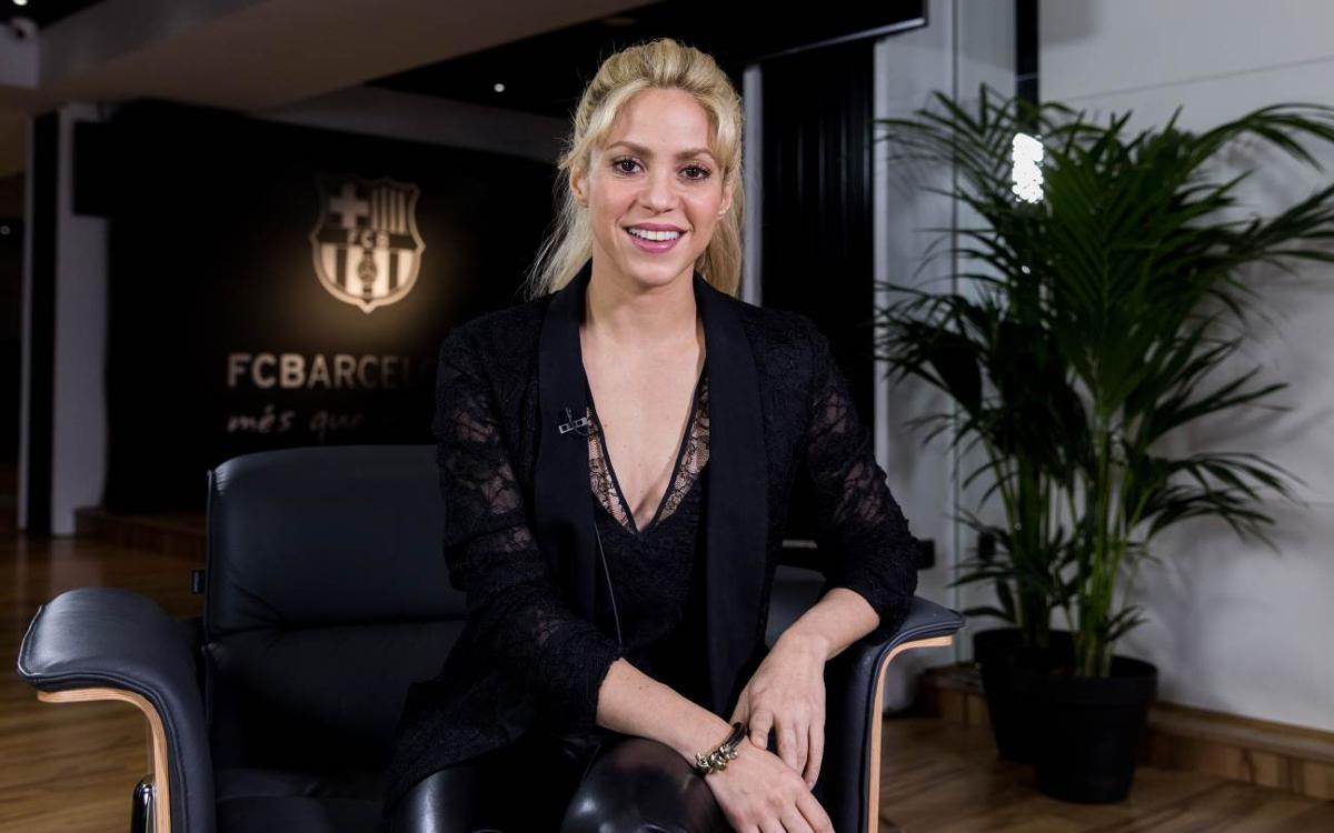 Shakira: FC Barcelona sets a great example