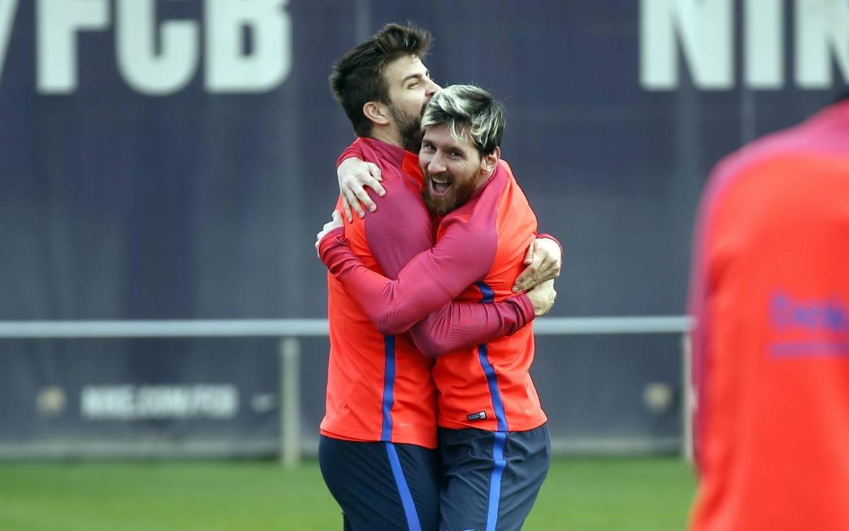 VIDEO: Tic-tac-toe, Barça style