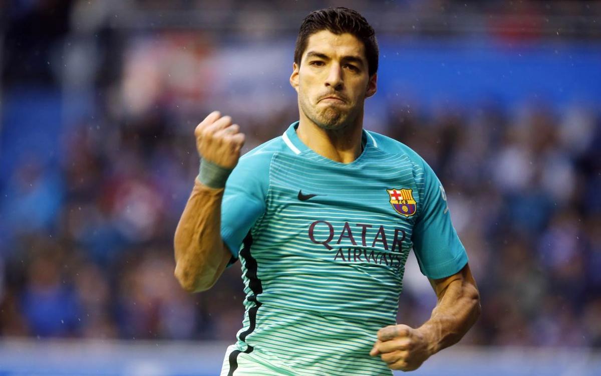 Luis Suárez iguala Luis Enrique com a golejador del FC Barcelona