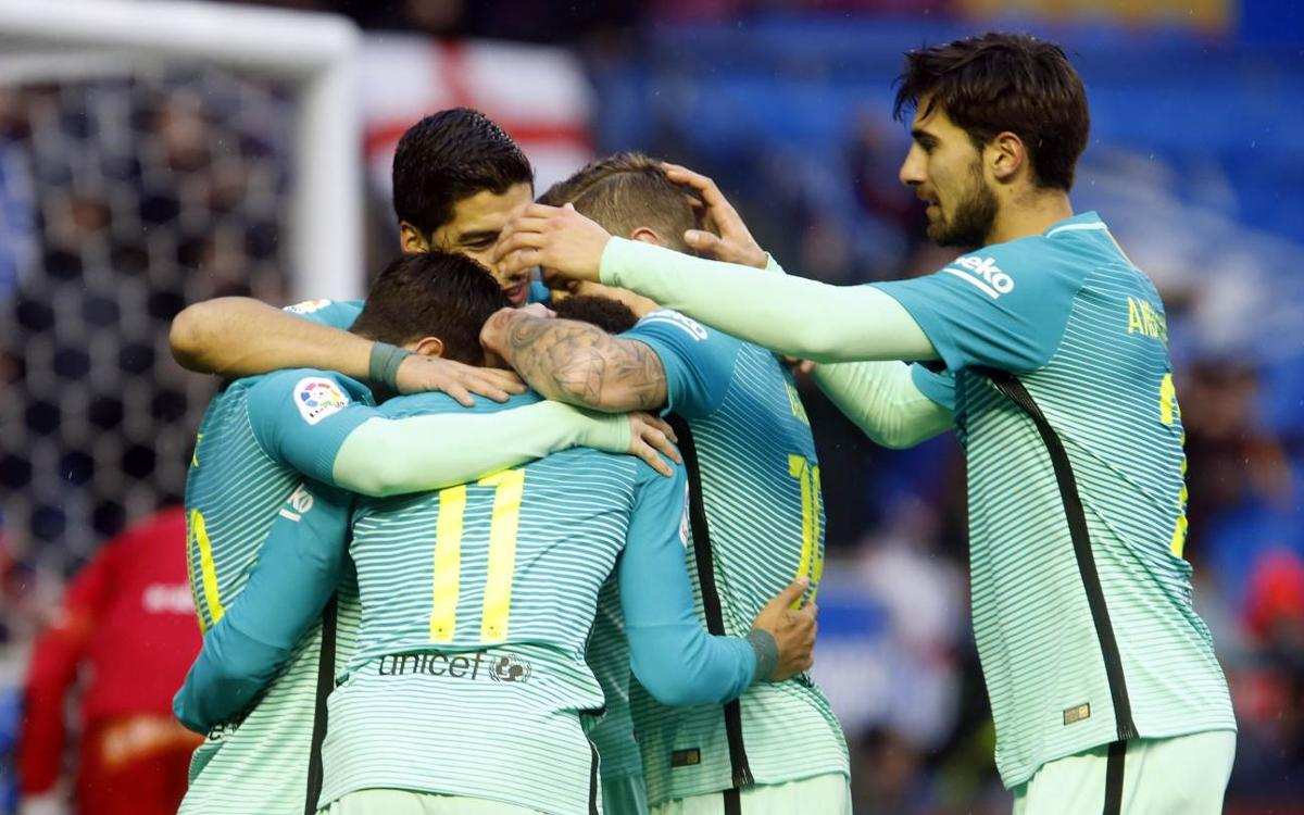 Deportivo Alabès – FC Barcelona: Primer assaig superat amb gran nota (0-6)