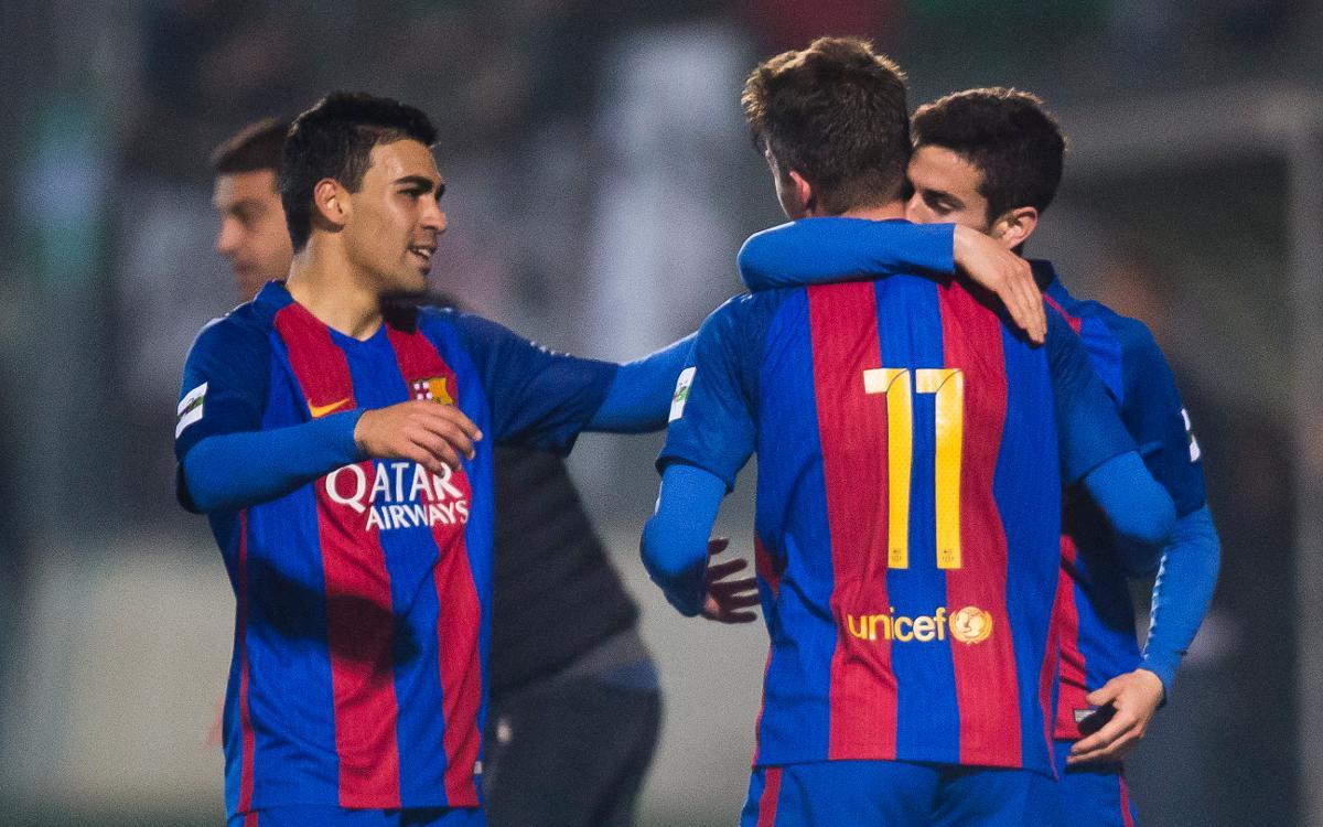 UE Cornellà 0-2 FC Barcelona B: Three points on the road