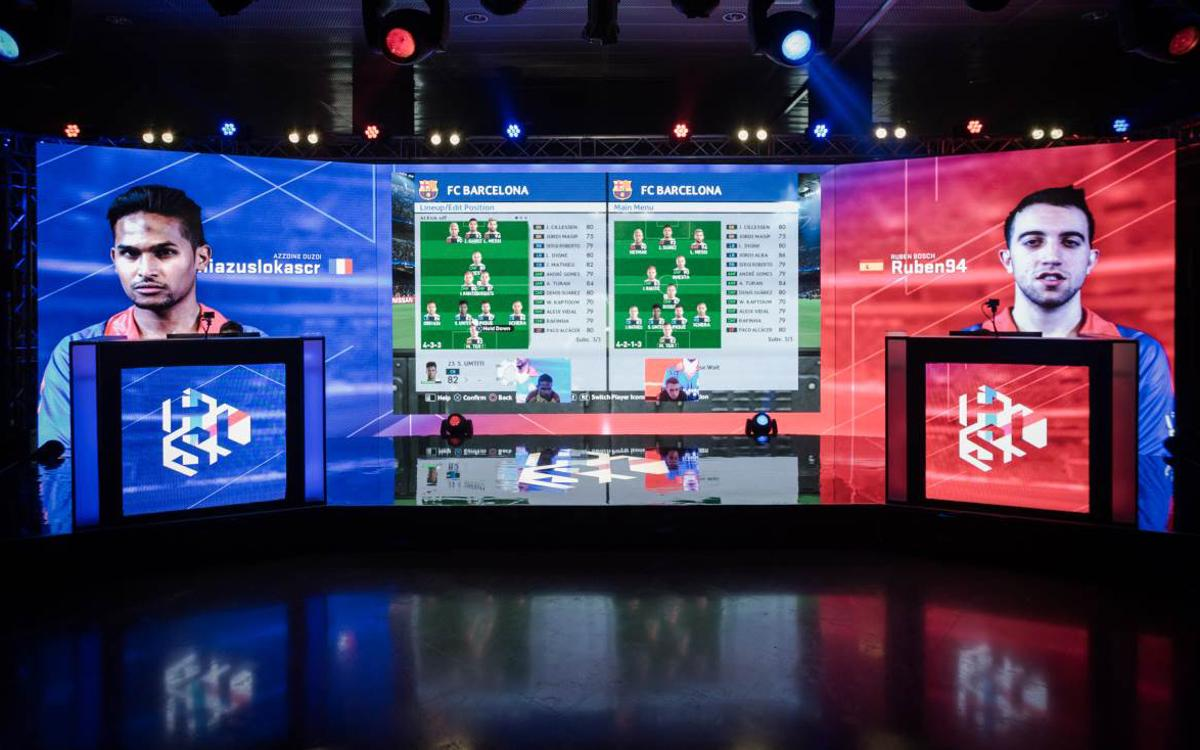 Camp Nou hosts first regional final of Konami's PES League