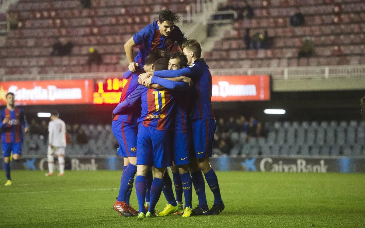 FC Barcelona B 2-1 Mallorca B: Comeback at the Miniestadi