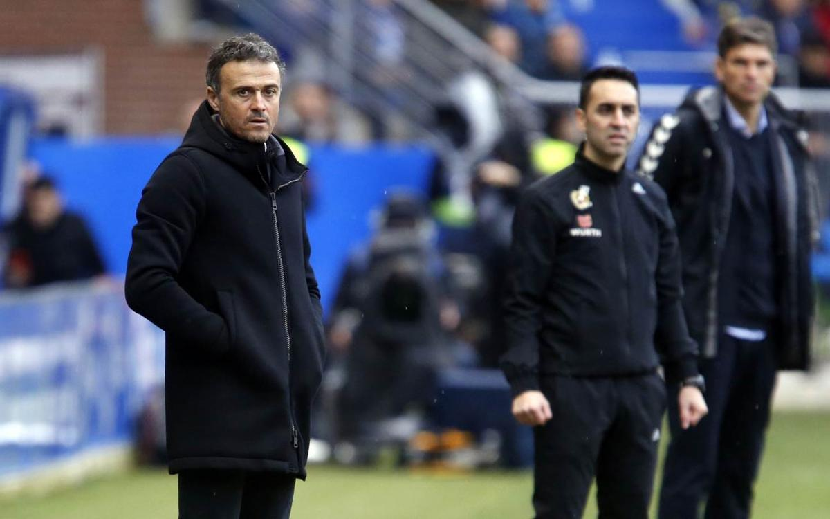 Luis Enrique: Great performance but Aleix injury is a blow for all of us