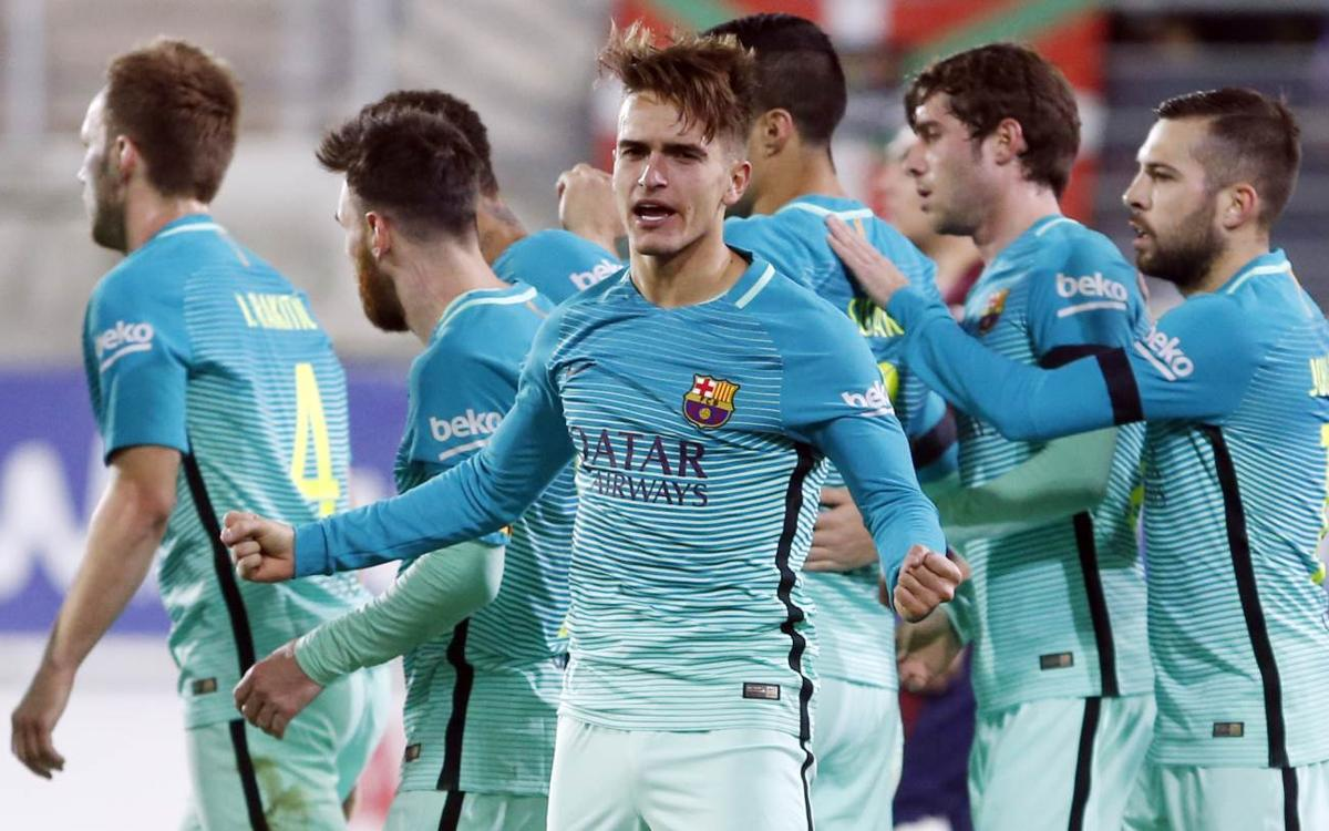 Denis Suárez: Win serves to pressure those above us