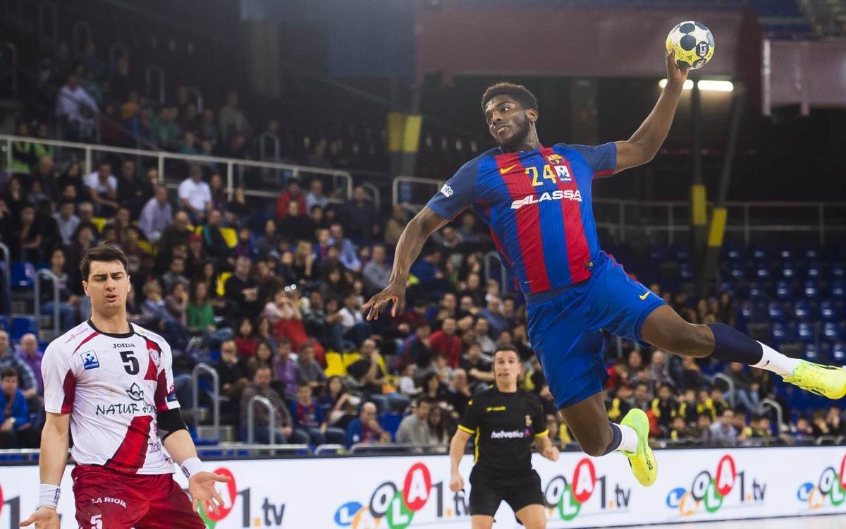 Barça Lassa 28-24 La Rioja: First beats third