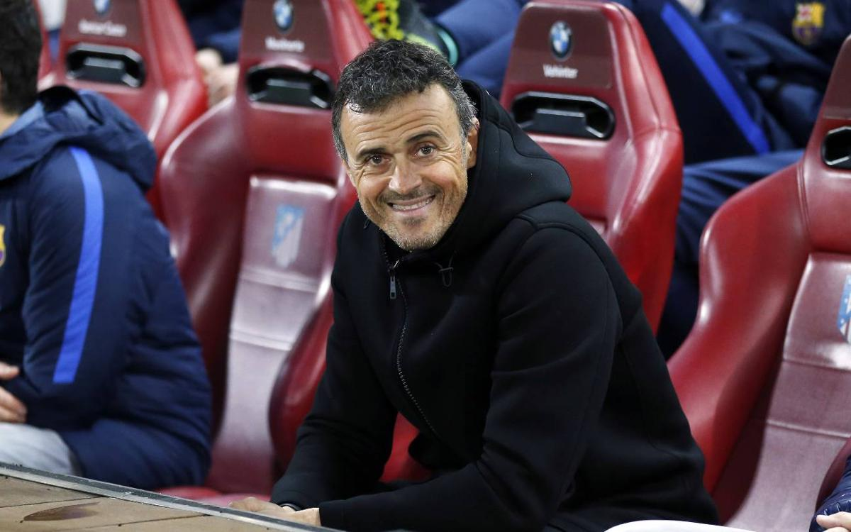 Final number eight for Luis Enrique at FC Barcelona