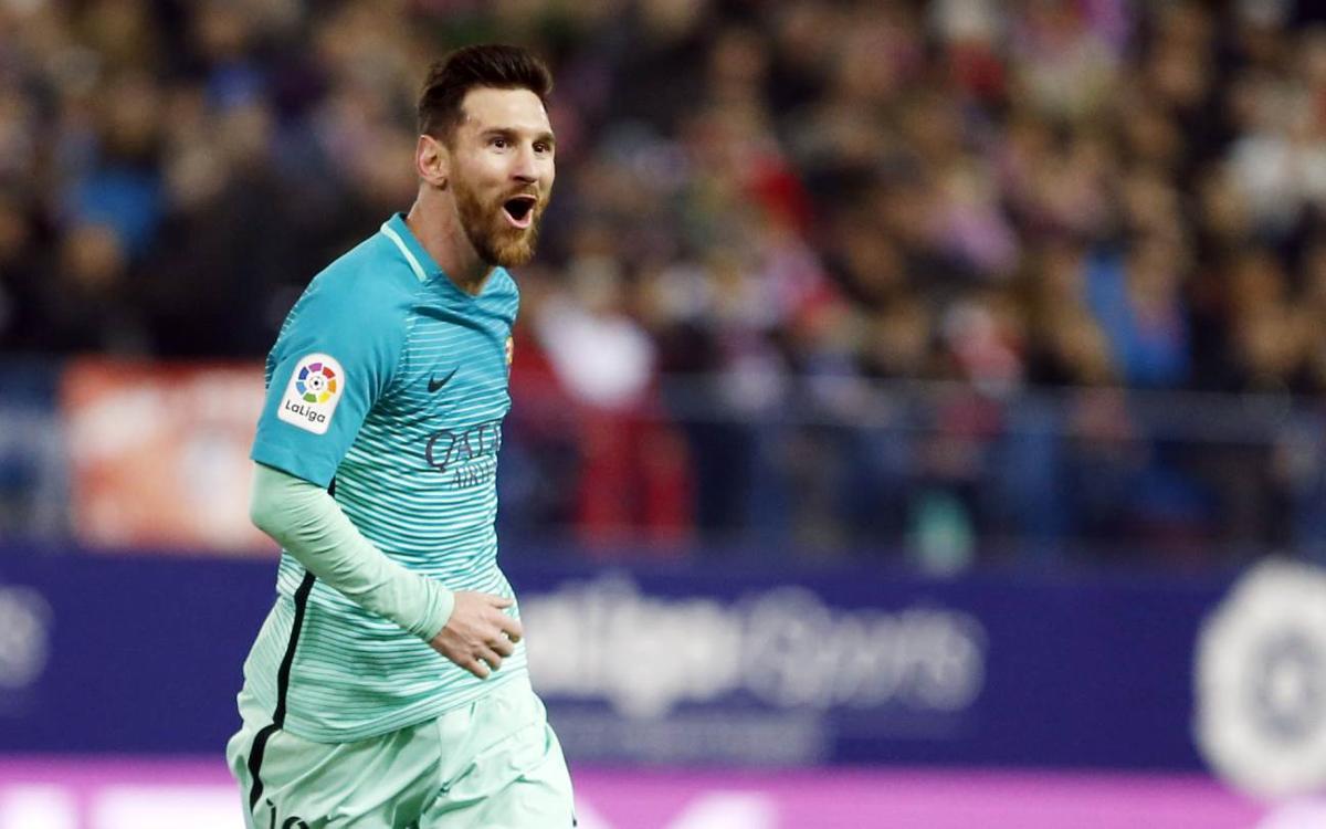 Los goles de Suárez y Messi desde todos los ángulos