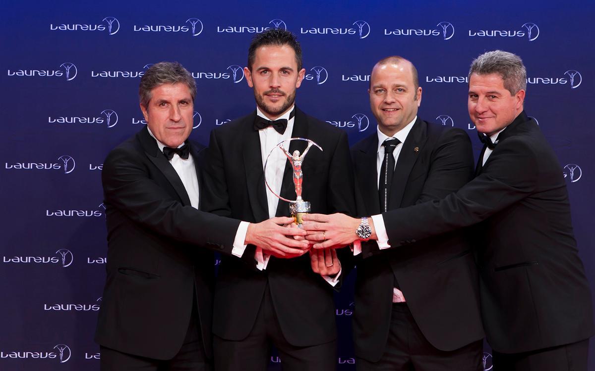 El tercer Premi Laureus de la història del FC Barcelona