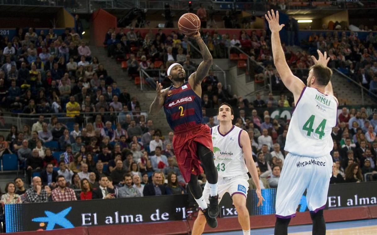 FC Barcelona Lassa v Unicaja: A great second half secures semi-final place (82-70)