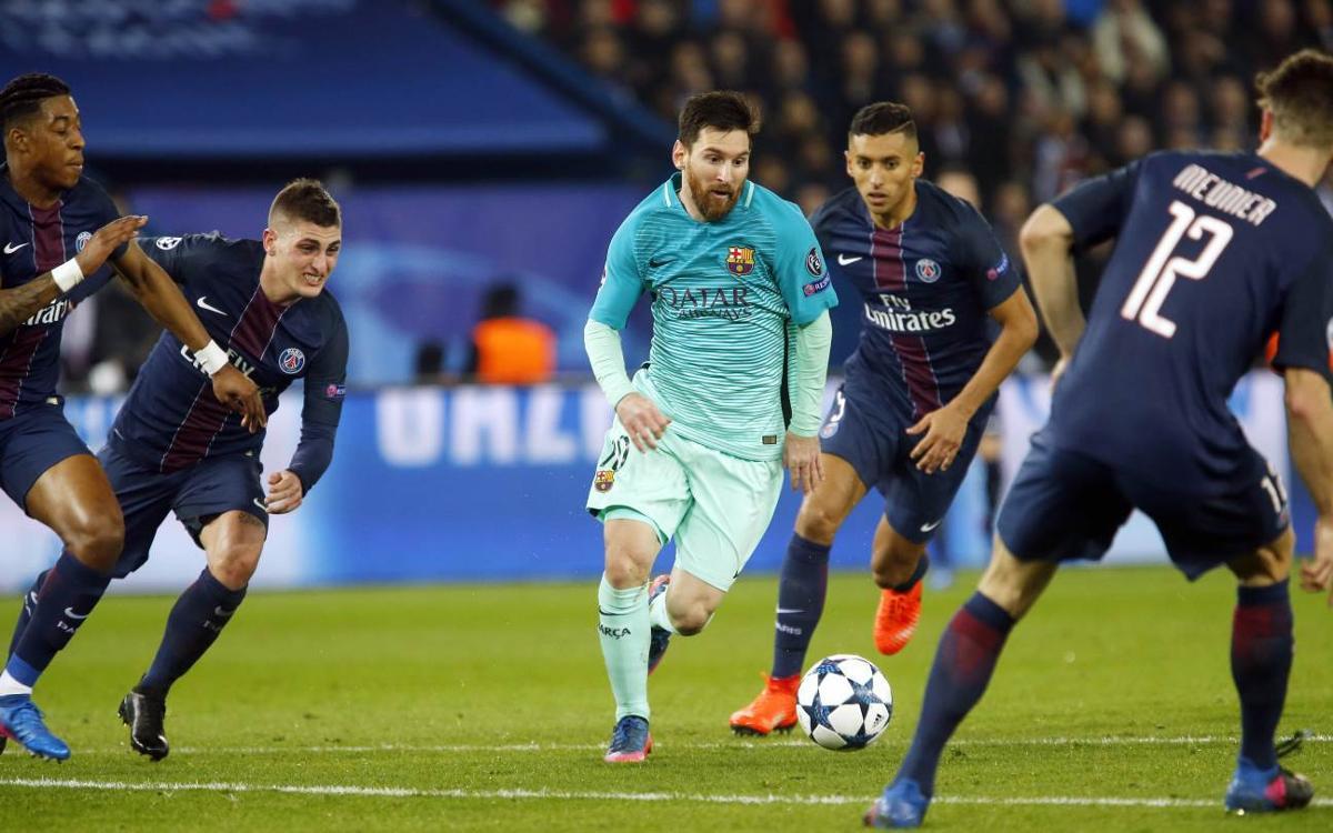 PSG - FC Barcelona: Duro golpe en París (4-0)