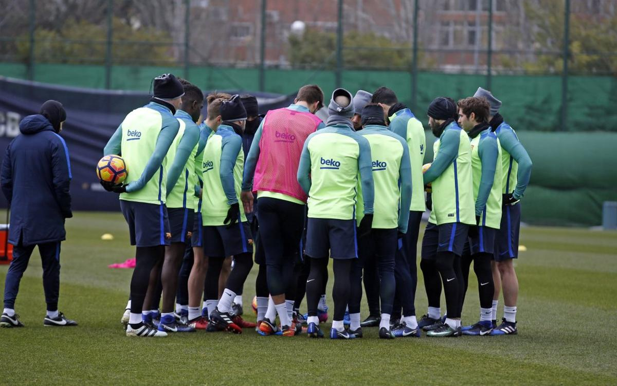 The 18-man squad for Eibar trip