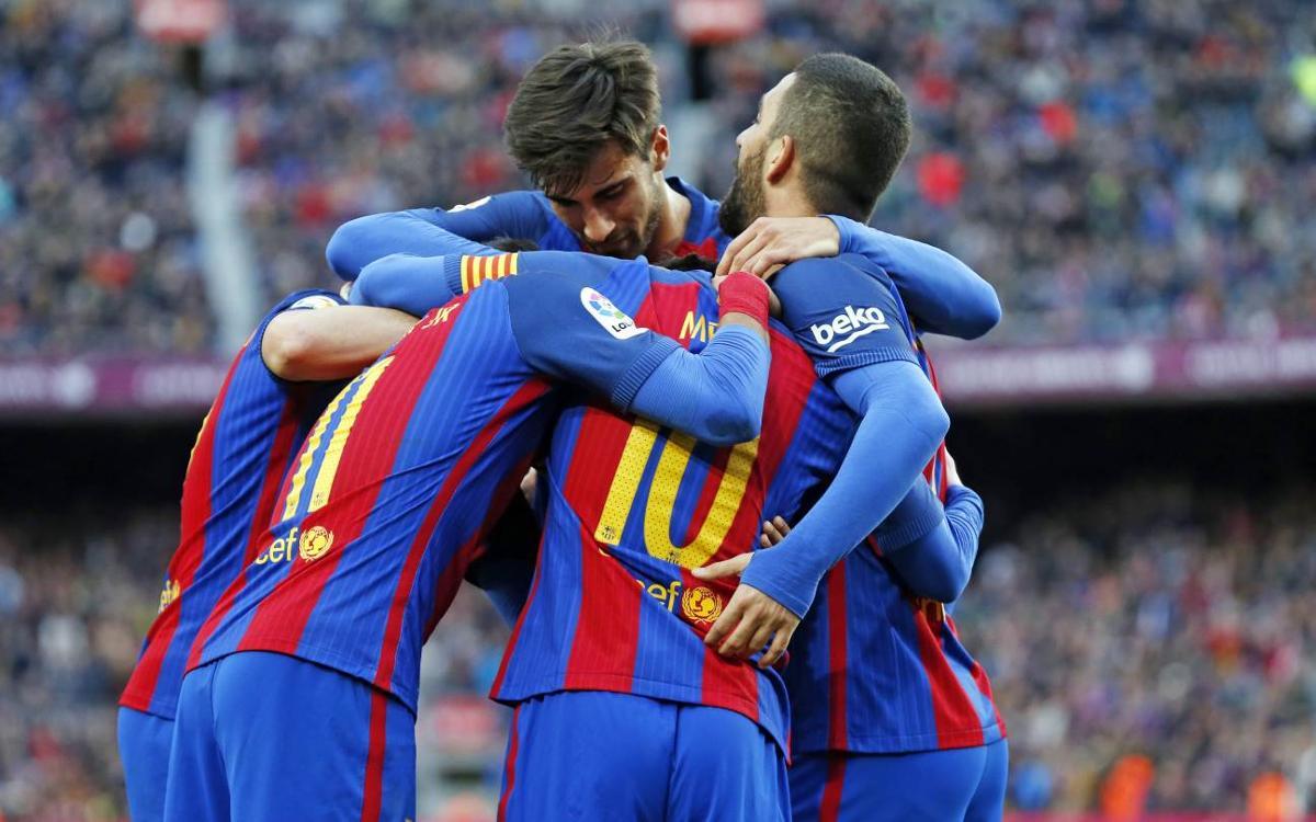 El FC Barcelona arriba als 100 gols aquesta temporada
