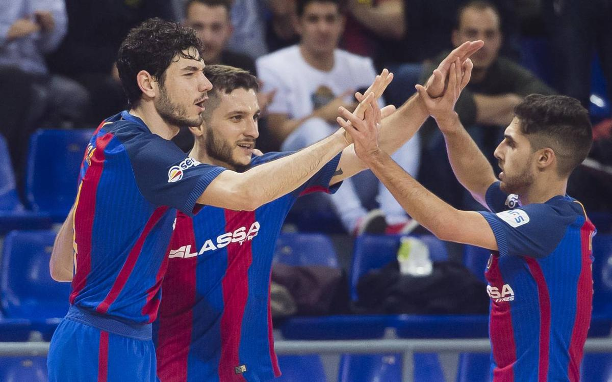 FC Barcelona Lassa v Pescados Rubén Burela: Big score to return to winning ways (6-2)