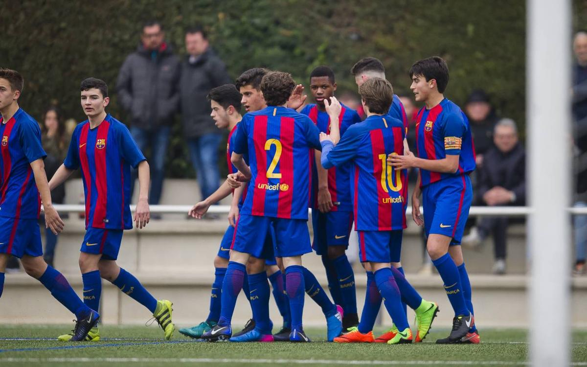 Top 5 goals of the week from the FC Barcelona Academy