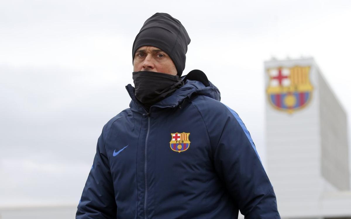 """Luis Enrique: """"L'Eibar serà fidel al que ha fet per estar on està a la Lliga"""""""