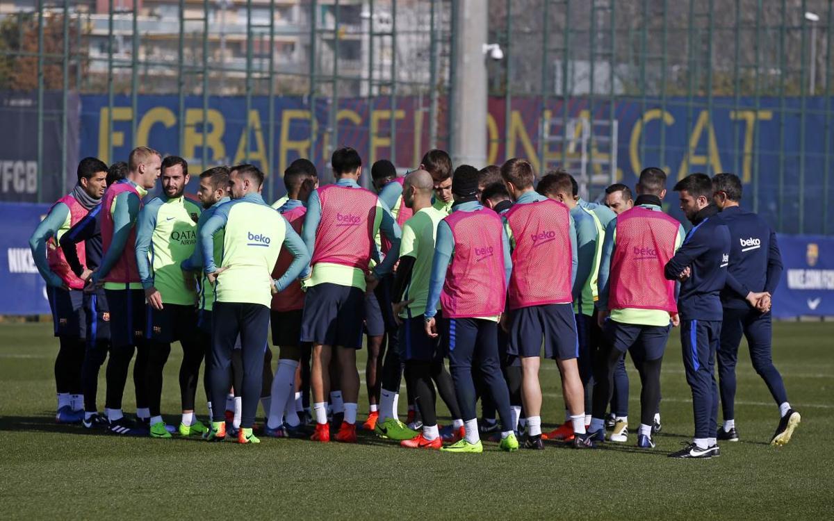 Squad announced for Liga clash with Athletic Club