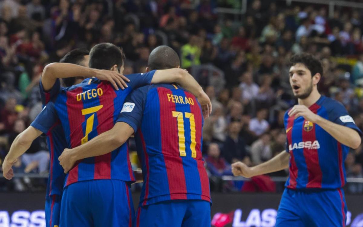 FC Barcelona Lassa – Bodegas Juan Gil Jumilla: Suficiente para continuar la racha (6-1)