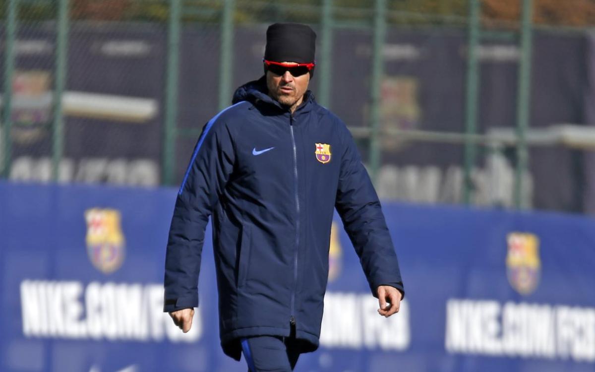 """Luis Enrique: """"Serà vital el suport de l'afició"""""""