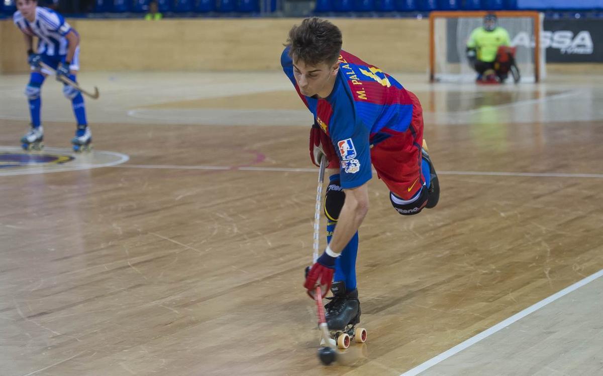 Marc Palazón debuta amb el primer equip del Barça Lassa