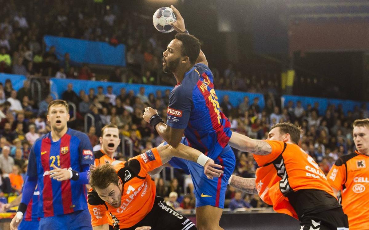 Kadetten Schaffhausen – FC Barcelona Lassa: El líder no se deja sorprender (24-31)