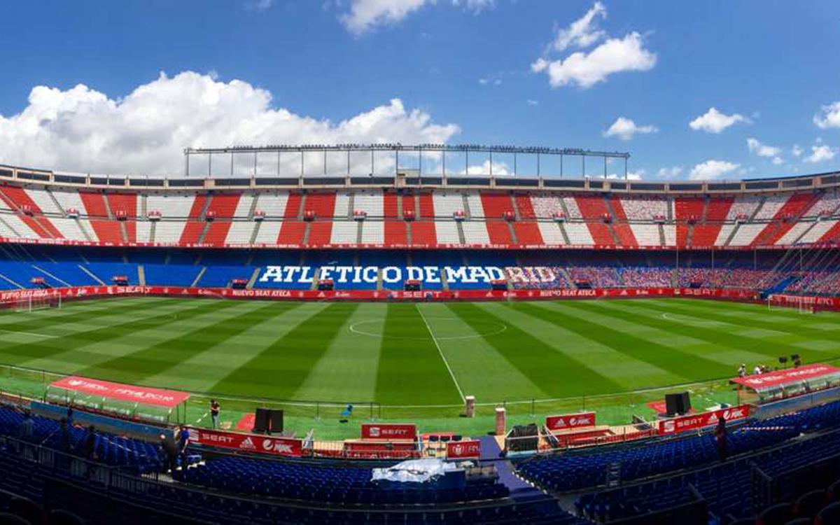 El Vicente Calderón, sede de la final de la Copa del Rey