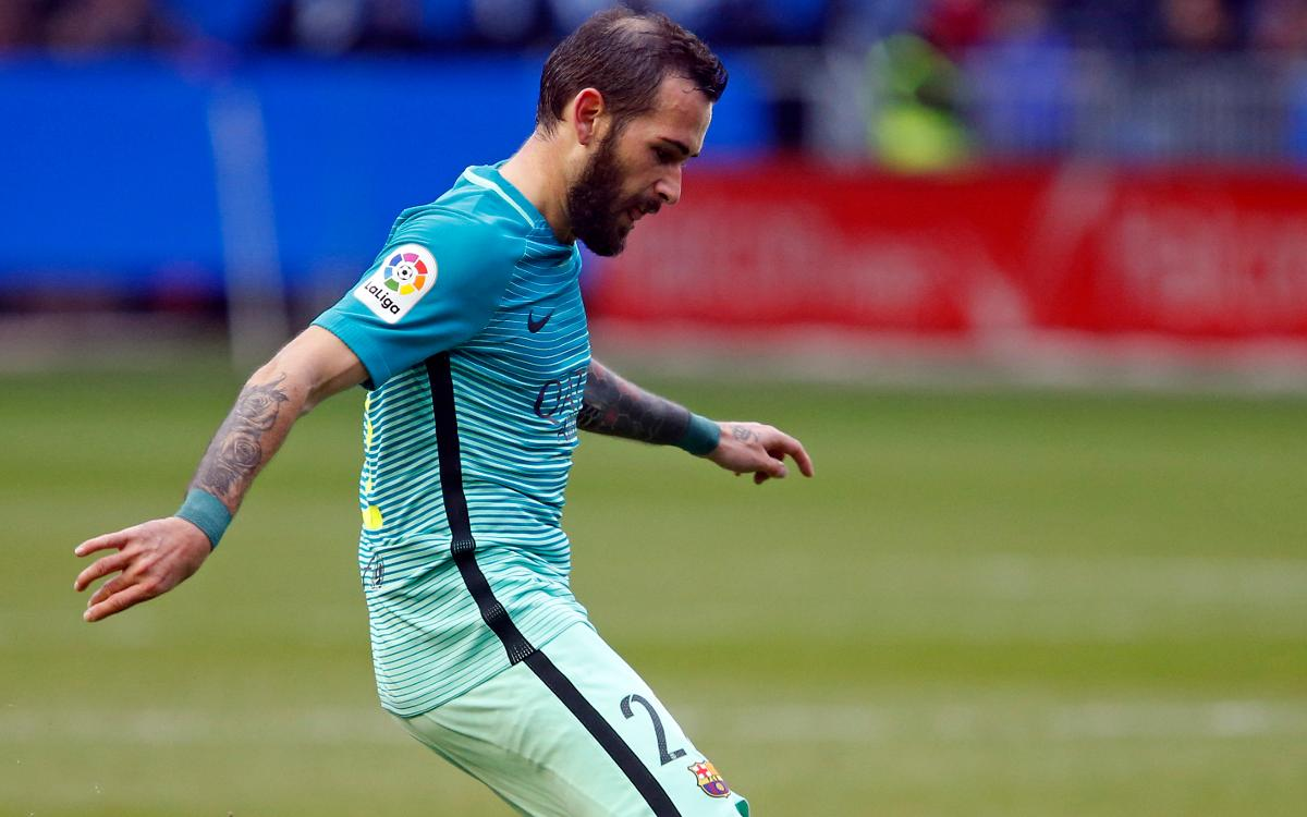 Aleix Vidal released from hospital and is back in Barcelona
