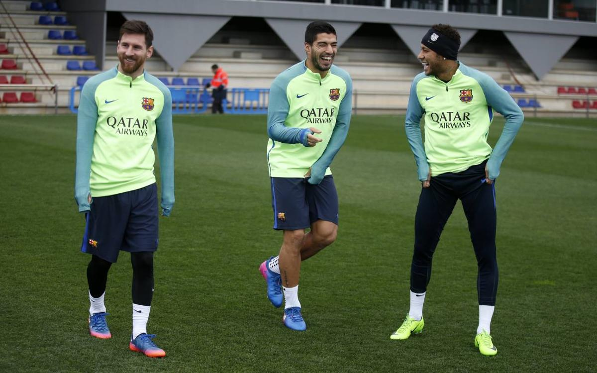 Recovery session for FC Barcelona with an eye on the Copa