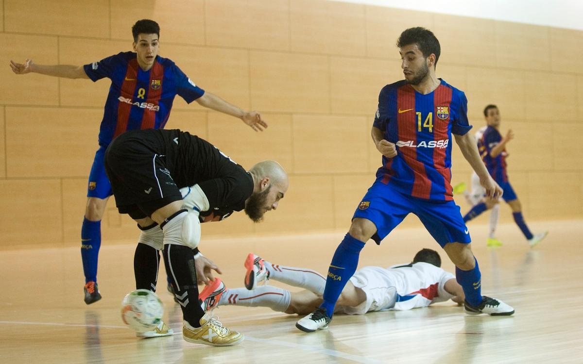 El Barça B mereix més contra el Valdepeñas (1-2)