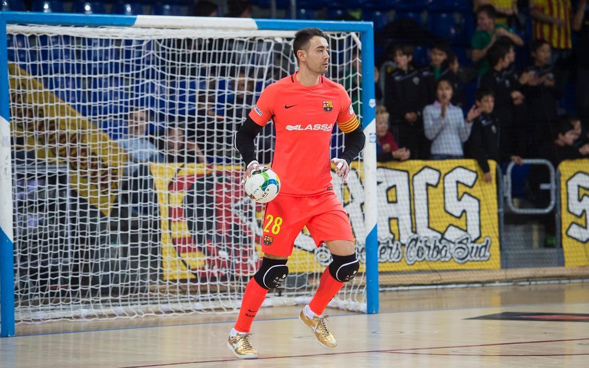 Paco Sedano seguirá una temporada más en el Barça
