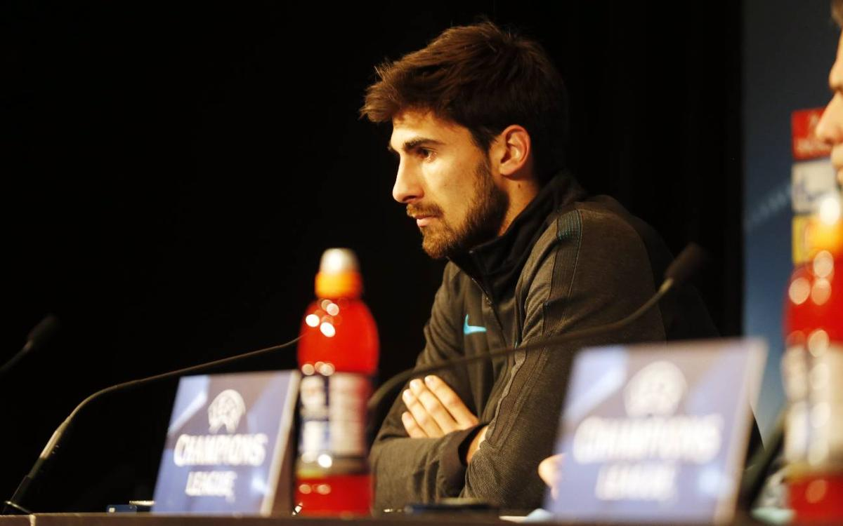 André Gomes: 'We want to beat PSG in order to be under less pressure in the return leg'