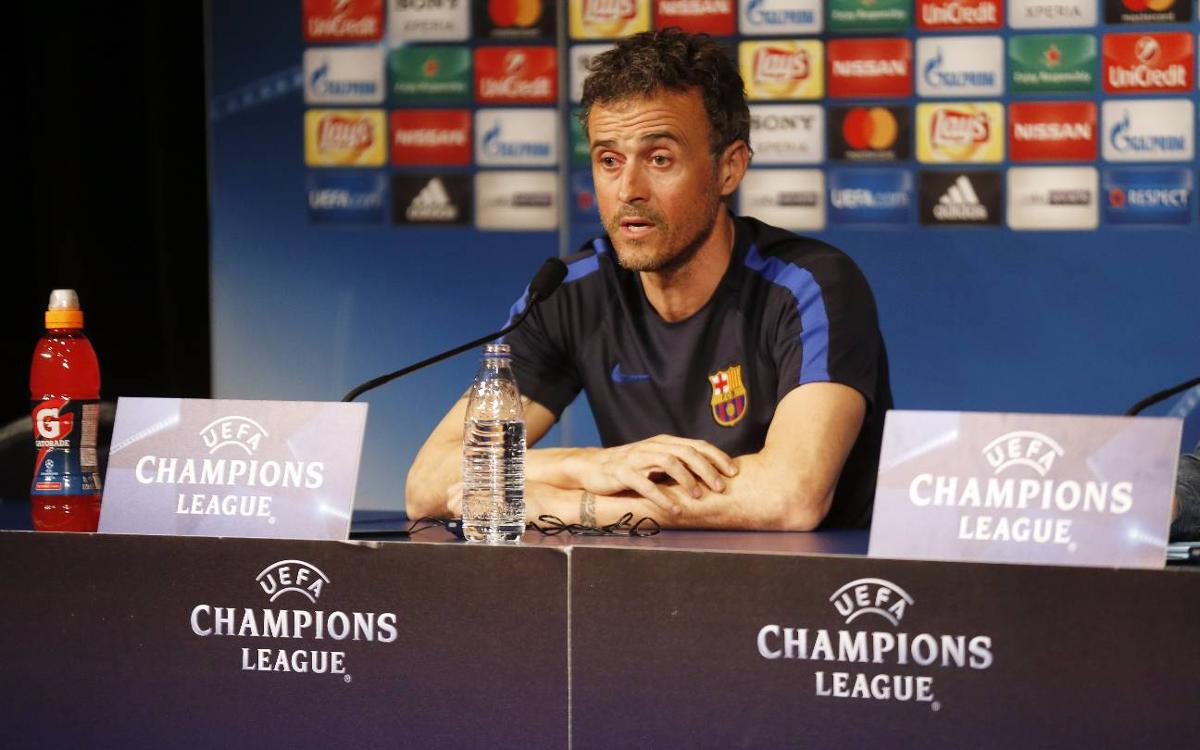 Luis Enrique predicts 'attractive' clash against PSG