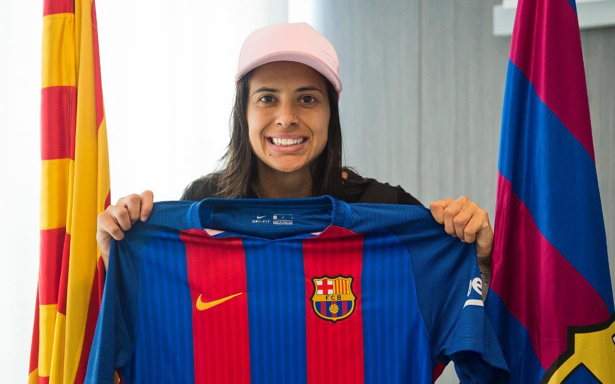 """Andressa Alves ja és aquí: """"És un somni"""""""