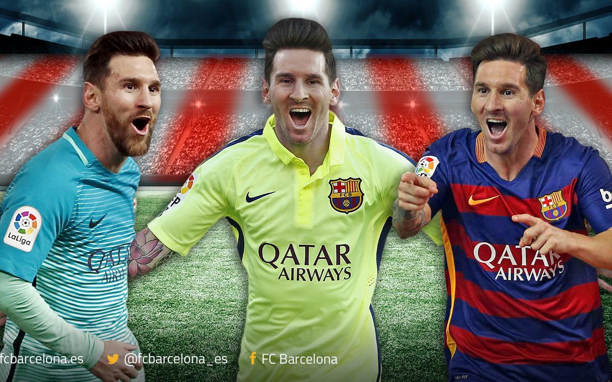 Talismán Messi en el Calderón