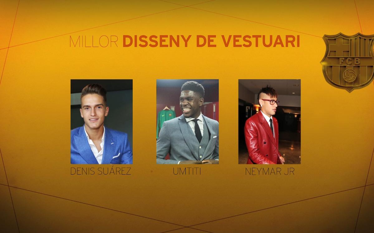 Segona categoria dels Oscars blaugrana: Millor Disseny de Vestuari