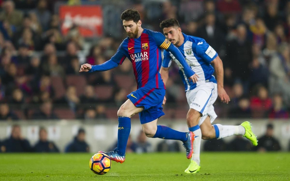 Le résumé de FC Barcelone - Leganés, en vidéo (2-1)